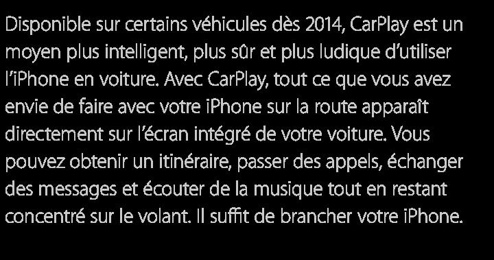 CarPlay-Texte